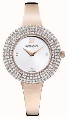 Swarovski | cristal rose | bracelet ton or rose | cadran argenté | 5484073