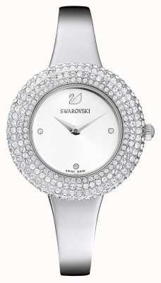 Swarovski | cristal rose | bracelet en acier inoxydable | cadran blanc | 5483853
