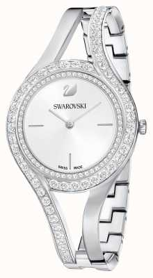 Swarovski | éternel | bracelet en acier inoxydable | ensemble de cristal | blanc 5377545