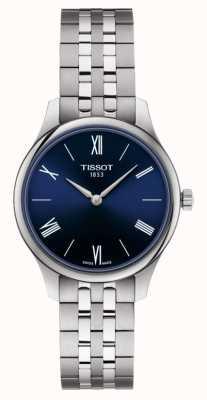Tissot | la tradition | bracelet en acier inoxydable pour femmes | cadran bleu | T0632091104800