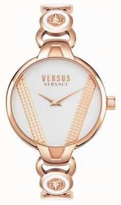 Versus Versace | saint germain | acier inoxydable de ton or rose | cadran blanc VSPER0419