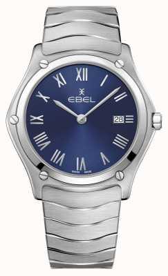 EBEL | sport classique pour hommes | bracelet en acier inoxydable | cadran bleu 1216420A