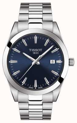 Tissot | monsieur | bracelet en acier inoxydable | cadran bleu | T1274101104100