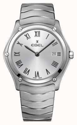 EBEL classique du sport pour hommes | bracelet en acier inoxydable | cadran argenté 1216455A