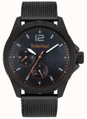 Timberland | taunton pour hommes | bracelet en maille noire | cadran noir | 15944JYB/02MM