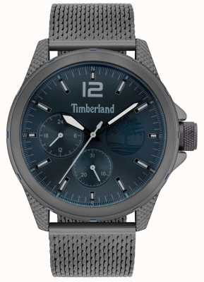 Timberland | taunton pour hommes | bracelet en filet gris canon | cadran marine | 15944JYU/03MM