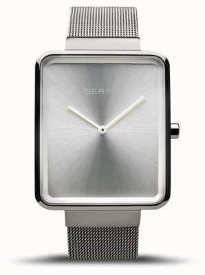Bering | classique des hommes | bracelet en maille d'acier | cadran argenté | 14533-000