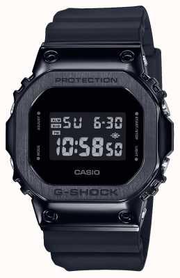 Casio Série de lunette métallique G-shock | bracelet en résine noire | numérique GM-5600B-1ER