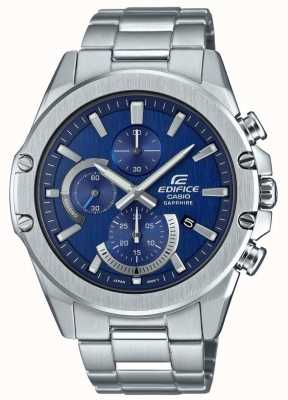 Casio Chronographe Edifice neo display | bracelet en acier inoxydable EFR-S567D-2AVUEF