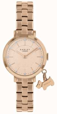 Radley Montre plaquée or rose Selby Street RY4398