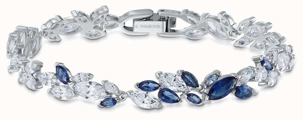 Swarovski   bracelet louison   cristaux bleus et blancs   5536548