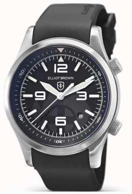 Elliot Brown Canford | édition spéciale sauvetage en montagne | Caoutchouc noir 202-012-R01