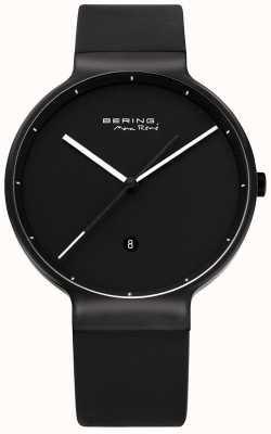 Bering | max rene | titane | bracelet en caoutchouc noir | 12639-822