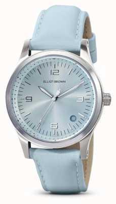 Elliot Brown | femmes | kimmeridge | cadran aqua sunray | bracelet aqua | 405-015-L61