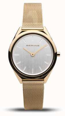Bering | unisexe | ultra-mince | bracelet en maille d'or | 17031-344