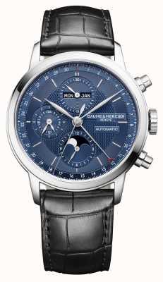 Baume & Mercier Classima | calendrier complet | automatique | chronographe M0A10484