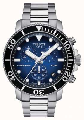 Tissot Mens seastar 30 bar 1000 chrongraph T1204171104101