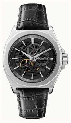 Ingersoll 1892 hommes l'orville | automatique | bracelet en cuir noir | I09302