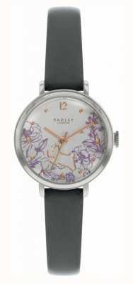 Radley | bracelet en cuir noir pour femme | cadran imprimé floral | RY2979