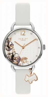 Radley | bracelet en cuir gris pour femme | cadran imprimé floral RY2981