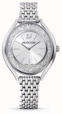 Swarovski Aura cristalline | bracelet en métal en acier inoxydable | argent 5519462