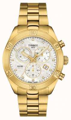 Tissot Pr 100 femmes | chronographe sport chic | nacre T1019173311601