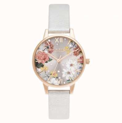 Olivia Burton Midi | or rose pâle | bracelet en perles scintillantes OB16BF29