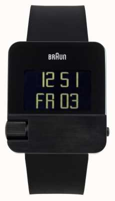 Braun Hommes   prestige   numérique   Caoutchouc noir BN0106BKBKG