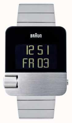 Braun Hommes | prestige | numérique | bracelet en acier inoxydable BN0106SLBTG