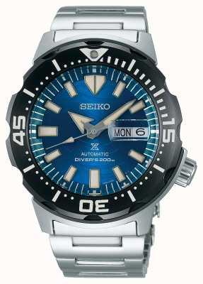 Seiko Prospex messieurs mécaniques | sauver l'océan | cadran bleu SRPE09K1