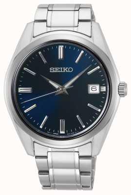 Seiko | quartz hommes conceptuels | acier inoxydable | cadran bleu | SUR309P1