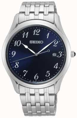 Seiko | quartz hommes conceptuels | bracelet en acier inoxydable | SUR301P1