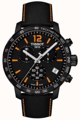Tissot Chronographe T-sport Quickster noir et orange T0954173605700