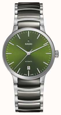 RADO Cadran vert céramique haute technologie automatique Centrix R30010312