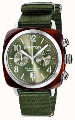 Briston Clubmaster classique | chronographe | 19140.SA.T.26.NOL