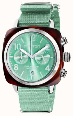 Briston Clubmaster classique | chronographe | 19140.SA.T.29.NGW