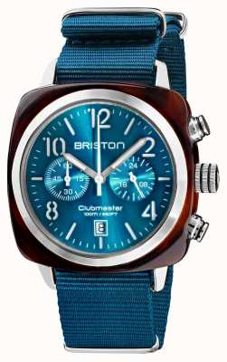 Briston Clubmaster classique | chronographe | 19140.SA.T.31.NBD