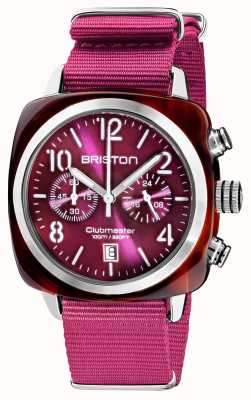 Briston Clubmaster classique | chronographe | 19140.SA.T.32.NC