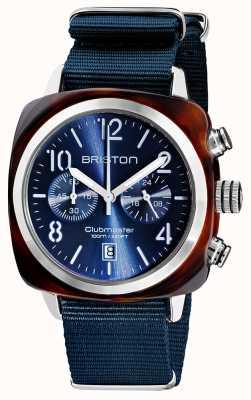 Briston Clubmaster classique | chronographe | 19140.SA.T.33.NMB