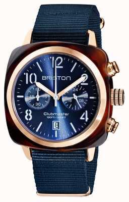 Briston Clubmaster classique | chronographe | 19140.PRA.T.33.NMB