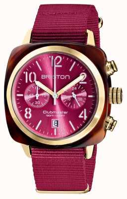 Briston Clubmaster classique | chronographe | 19140.PYA.T.28.NBER