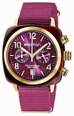 Briston Clubmaster classique | chronographe | 19140.PYA.T.32.NC
