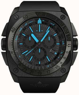 Aviator Mig-29 | chrono | bracelet en caoutchouc noir M.2.30.5.217.6