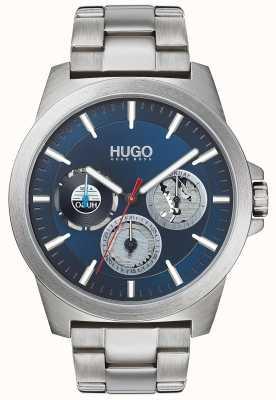 HUGO #twist | bracelet en acier inoxydable | cadran bleu 1530131