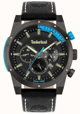 Timberland Hommes | sherbrook | bracelet en cuir noir | cadran noir 15951JSU/02
