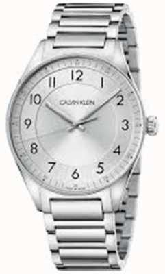 Calvin Klein | lumineux | bracelet en acier inoxydable | cadran argenté | KBH21146