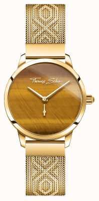 Thomas Sabo | glam et soul | esprit jardin des femmes | oeil de tigre or WA0364-264-205-33