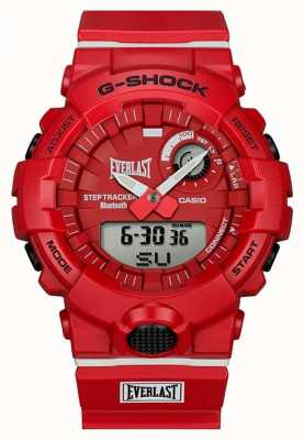 Casio G-shock | éternel | bluetooth | rouge GBA-800EL-4AER