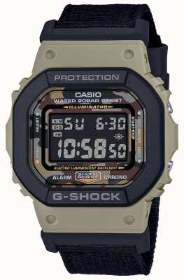 Casio G-shock | bracelet noir | numérique | chronomètre DW-5610SUS-5ER