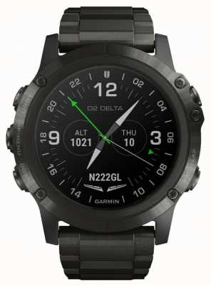 Garmin Aviateur D2 delta px | bracelet en titane dlc 010-01989-31